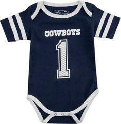 84c6f2d8032 Dallas Cowboys Infant Navy Catch One Catch All Creeper Having A Baby Boy,  Our Baby