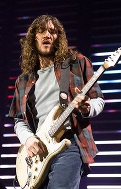 John Frusciante - One of the best and most creative guitarist who ever lived.