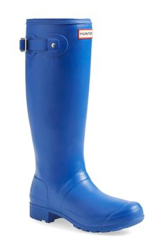 Just a hop, skip and a jump away from puddles of fun. These Hunter 'Tour' rain boots will come in handy this winter.