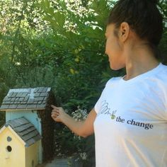 Together we can Bee The Change we'd like to see in the world.  Join the buzz, http://www.honeycolony.com/shop/bee-the-change-teeshirt/