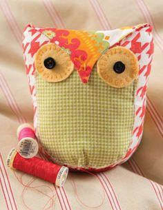 Free tutorial on sew mama sew from the book Pretty Birds.  Sneak peak.  So cute!