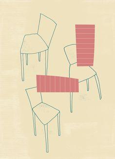 take a seat Art Print by juni - X-Small Take A Seat, Juni, Buy Frames, Printing Process, Gallery Wall, Take That, Art Prints, Stuff To Buy, Illustration