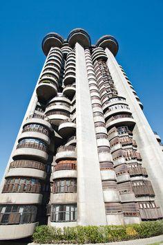 Torres Blancas by Sáenz de Oiza - 1969, Madrid...