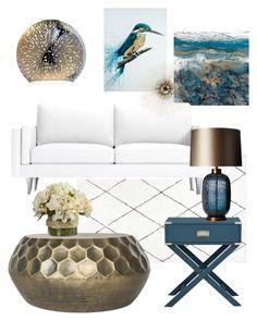 """Untitled #7"" by celine-eden on Polyvore featuring interior, interiors, interior design, home, home decor, interior decorating, Safavieh, Las Venus and Heathfield & Co."