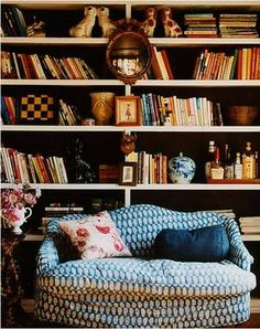 wish i had space for a reading nook. sadly, i have more craft supplies than books.