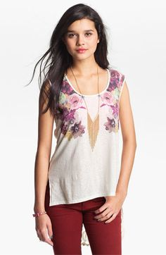 h.i.p. High/Low Tank (Juniors) available at Nordstrom
