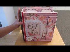 (francais) scrapbooking : Album Paris , grand format   Le Devoilement . - YouTube Album Photo Scrapbooking, Mini Albums Scrapbook, Grandes Photos, Diy Mini Album, Origami, Grand Format, 3d Paper Crafts, Memory Books, Paris