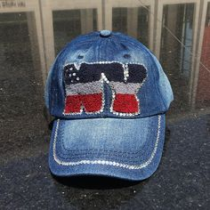 a3660d240bd Show off your patriotic pride with NY logo crocheted on front with a chic  interpretation of the American flag.