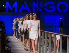 Mango Primavera/Verano 2014 en la pasarela 080 Barcelona Fashion #Mango080