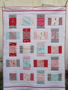 Sherbet Pips Baby Quilt | Flickr - Photo Sharing!