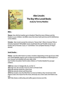 www.homeschoolshare.com abraham_lincoln_boy_who_loved_books.php
