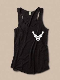 Simple Air Force Tank - Want this I need some sort of Air Force shirtto represent the fam!