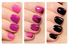 Color-Changing Nail Polishes!