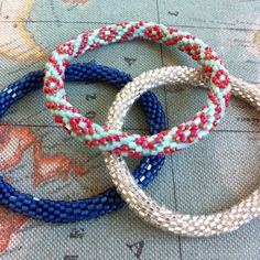 Lily and Laura bracelets!!  Love!