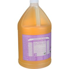 Dr. Bronner's Pure Castile Soap - Fair Trade And Organic - Liquid - 18 In 1 Hemp - Lavender - 1 Gal