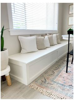 #dining #storage #bench #diningstoragebench How to Build a Banquette Dining Bench - Lemon and Bloom Built In Dining Room Seating, Banquette Dining, Dining Room Bench Seating, Kitchen Seating, Kitchen Benches, Dining Nook, Kitchen Bench With Storage, Built In Bench, Living Room Storage Bench