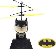 DC Comics - Motion Control RC Flying Batman - Black/Gray, WB-4001