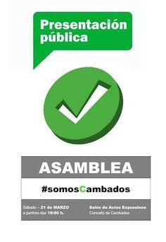 """CORES DE CAMBADOS: """"SOMOS CAMBADOS"""" PRESÉNTASE O VINDEIRO SÁBADO"""