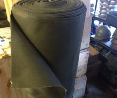 Military Canvas Material Olive Drab Heavy Duty Industrial Waterproof
