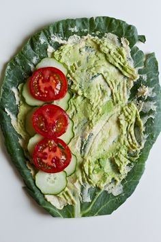 Raw Veggie Collard Wrap | Edible Perspective | Sambazon