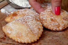 Italian Pastries, Italian Desserts, Cocktail Desserts, Holiday Desserts, Ricotta Cheese Desserts, Ravioli, Almond Paste Cookies, Cookie Recipes, Dessert Recipes