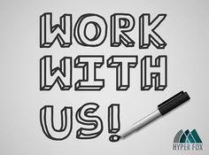 Dołącz do naszego zespołu! http://hyperfox.pl/praca/