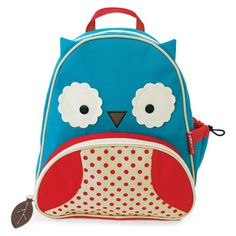 Skip Hop 'Zoo Pack' Backpack ($20) ❤ liked on Polyvore featuring bags, backpacks, accessories, purses and blue multi