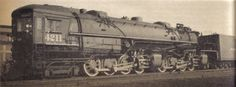 Cab-in-Front locomotive – one of the latest built by Baldwin for the Southern Pacific