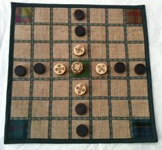 Brandubh the ancient Irish board game for 2 by MeganFitzoliver