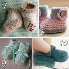 Knitting Baby ShoesIf you are pregnant or you are searching for a special birth gift, then this post is for you!! baby shoe has always been the perfect special warm gift since history. You will find i