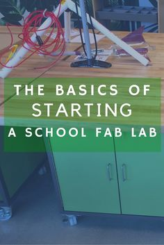 Starting a Fab Lab? Begin here with the fab lab basics: the what, why & how to's for fabrication labs.