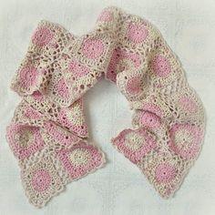 crochet scarf pattern by francesca-caas
