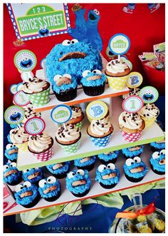 Cookie Monster Party...2nd birthday idea for the little guy?