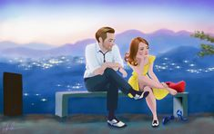 La La Land by DylanBonner.deviantart.com on @DeviantArt