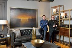 Designers Glen Peloso and Jamie Alexander share tips on how to decorate the inside of a fireplace. Photo by Arnal Photography.