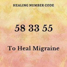 Healing Codes, Switch Words, Daily Positive Affirmations, Mind The Gap, Tarot Card Meanings, Reiki Energy, Magic Words, Yoga, Migraine