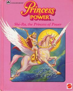 """She Ra Princess of Power - A Memoir. All I remember of this book was the word """"rebels"""" and how I pronounced it as """"reb-ells. She had a flying unicorn for crying out loud! Childhood Images, 90s Childhood, Childhood Memories, Before I Forget, Back In My Day, She Ra Princess Of Power, 80s Kids, Vintage Movies, Vintage Books"""