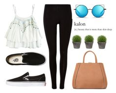 """""""Untitled #1548"""" by fashionstring ❤ liked on Polyvore featuring MANGO, Vans, Matthew Williamson, Broste Copenhagen, women's clothing, women, female, woman, misses and juniors"""