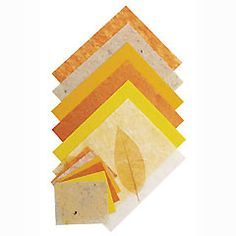 yellowmoon Handmade Craft Papers - Yellow/Gold Golden assortment of high quality handmade craft papers. Various textures and finishes. Cut as http://www.comparestoreprices.co.uk/creative-toys/yellowmoon-handmade-craft-papers--yellow-gold.asp