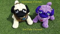 This cute pug pattern is created by Helen Brady. It's a free Ravelry PDF download.