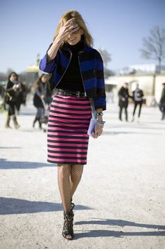 Sarah Rutson, Prada Stripes