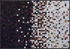 Alfombra de cuero premium Argentino .Modelo JACKY::: Design Carpets Alfombras :::