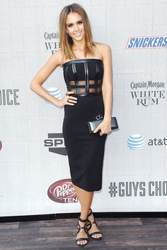 The 6 Sexiest Looks From The Spike Guys' Choice Awards via @WhoWhatWearUK