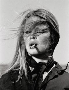 Brigitte Bardot with Cigar, Spain by Terry O'Neill
