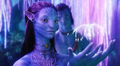 Capture d'écran du film Avatar, de James Cameron (2009)