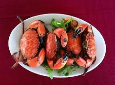 Boiled thunder crab - special home food - Halong
