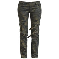 Black Premium by EMP  Cloth Trousers  »Strap Pocket« | Buy now at EMP | More Rock wear  Cloth trousers  available online ✓ Unbeatable prices!