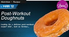 How about some doughnuts! from Danielz Post Workout, Doughnuts, Bagel, Protein, Yummy Food, Nutrition, Bread, Fruit, Recipes