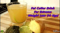 Fat Cutter Drink With Green Tea, Honey , Ginger And Lime. Fat Cutter Drink, Keto Diet Plan, Lose Belly Fat, How To Lose Weight Fast, Keto Recipes, Lime, Honey, Weight Loss, Tea