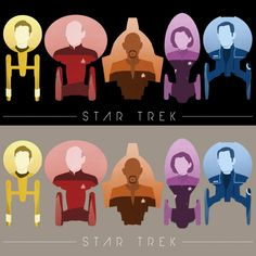 Star Trek 50th Anniversary Design Contest - WeLoveFine -T-shirts designed for fans by fans